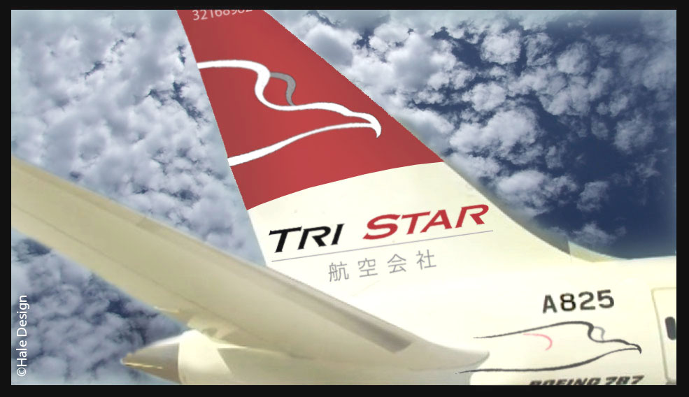 Tri Star Airlines Brand / JAL