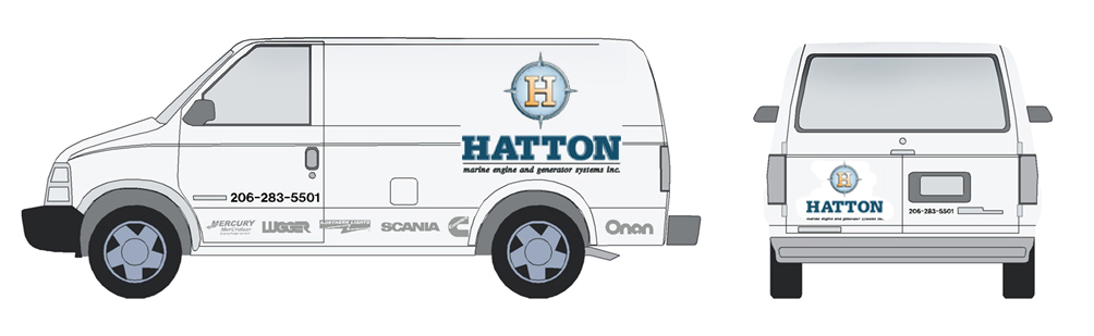 Hatton Van Mock Up