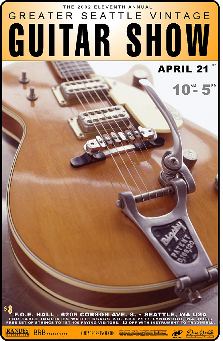Greater Seattle Vintage Guitar Shows
