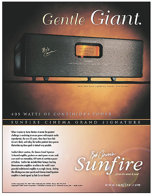 SUNFIRE AMPLIFIER AD