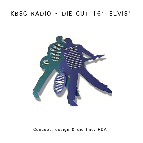 KBSG - Elvis Die Cut