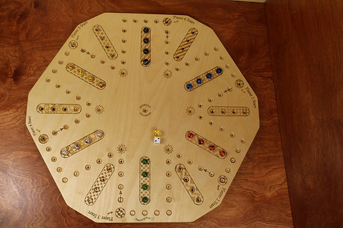 Double sided Aggravation Board - 4 & 6 Player