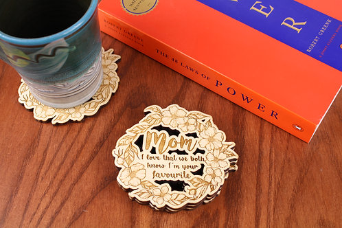 Mother's Day Coasters - Set of 6