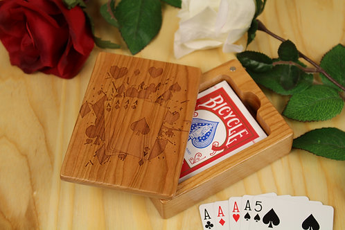 Playing Card Box   Splash of Aces