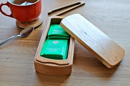 Tea Box - Natural Cherry