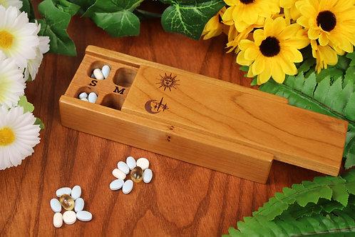Sun & Moon | AM PM 7 Day Pill Case | Single
