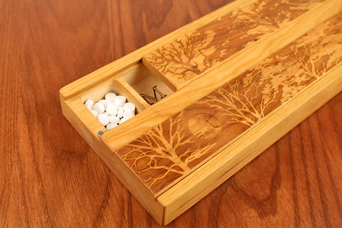 Forest Moon | AM PM 7 Day Pill Organizer | Double Jumbo