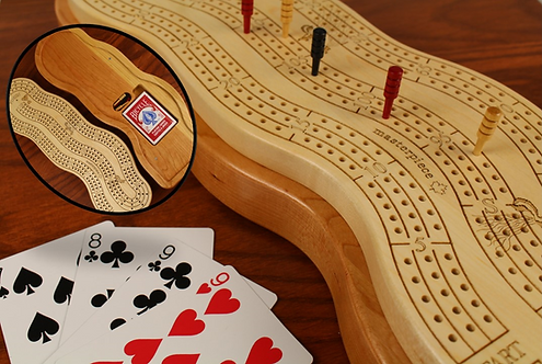 3 Player Wonky Cribbage Board