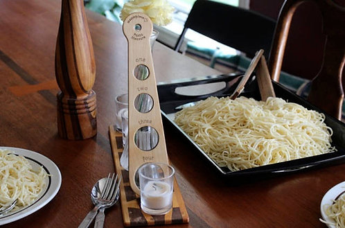 Pasta Measure in Solid Maple - Pasta Tools