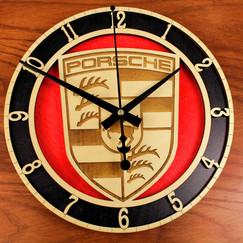 Custom Porsch clock