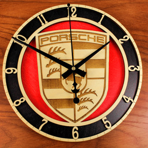 Custom Porsch clock