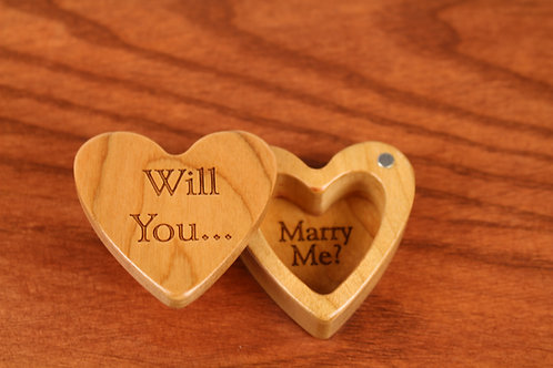 Will You Marry Me? - Heart Shaped Box H29