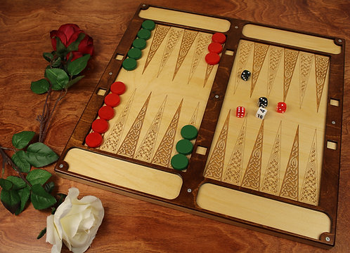 Large Backgammon Set