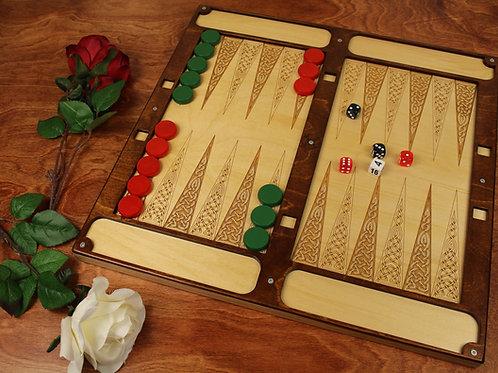 Large Backgammon Set