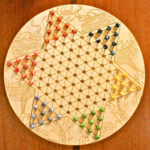 Large Chinese Checkers, Baltic Birch
