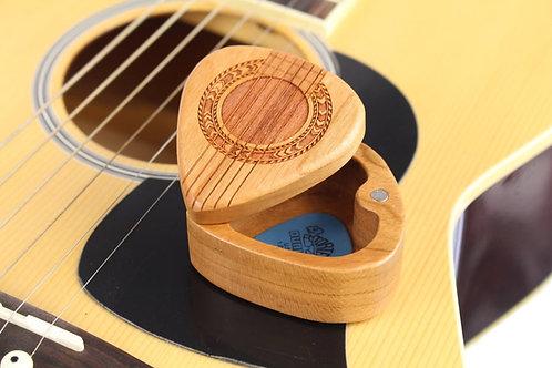 Wood Guitar Pick Holder | G37 Guitar Strings