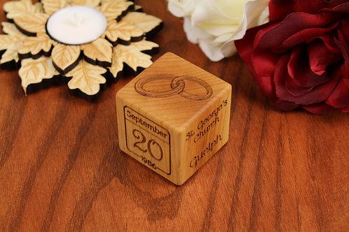 Wedding/Anniversary Block