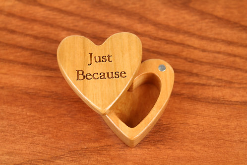 Just Because - Heart Shaped Box H31