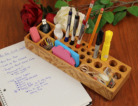 Desk Organizer - Pencil Holder
