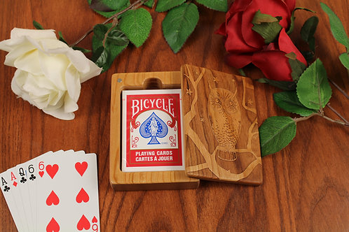 Playing Card Box   Owl