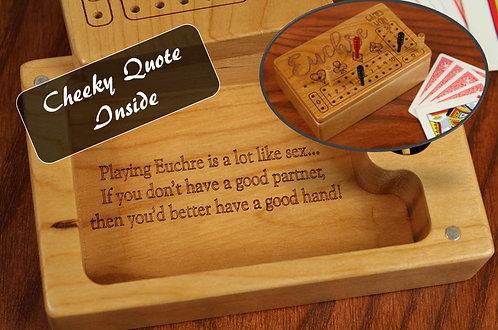 Euchre Score Counter Box