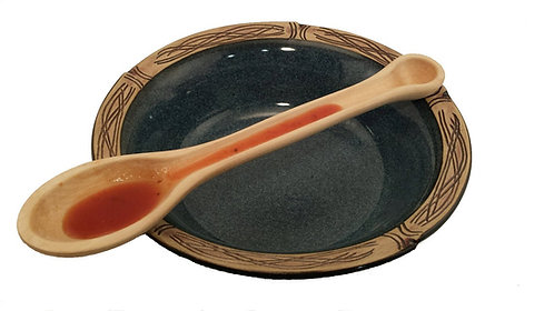 French Tasting Spoon Maple