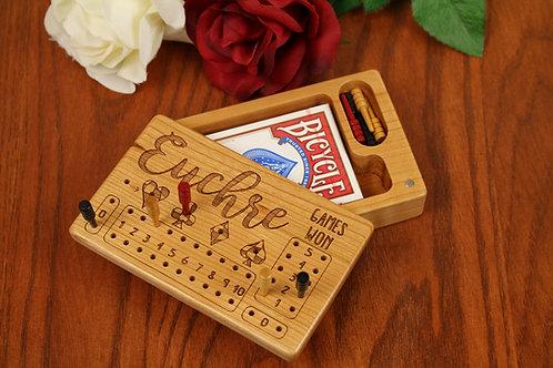 Euchre Score Counter Box | All Cherry