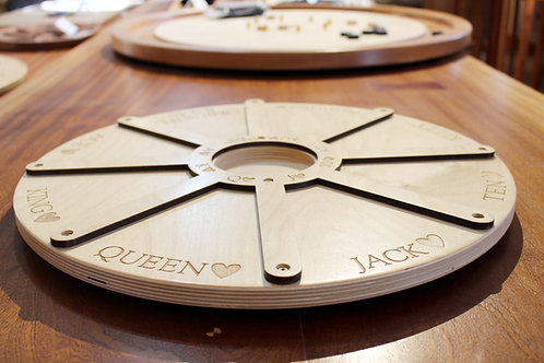 Tripoley with Lazy Susan - Baltic Birch