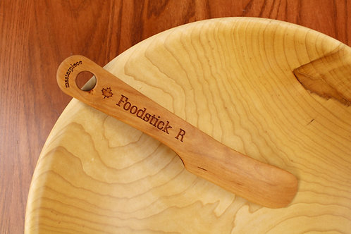 Foodstick - Lefts & Rights made from Solid Cherry