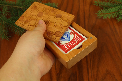 Playing Card Holder   Honey Bee