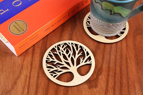 Tree of Life Coasters - Set of 6
