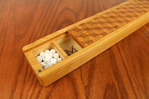 JUMBO Weekly Pill Box | Cube Pattern