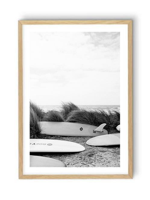 Weekend & Waves, Print