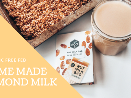 How to make your own Almond Milk? | PLASTIC FREE WIN