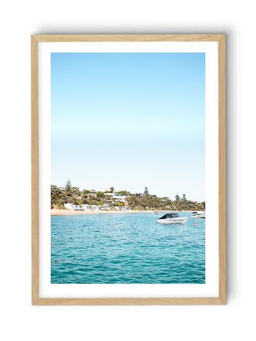 Portsea Boat House , Print
