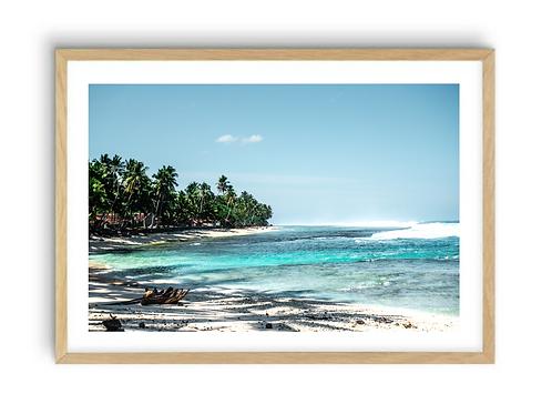 Sumatran Coastline,  Print