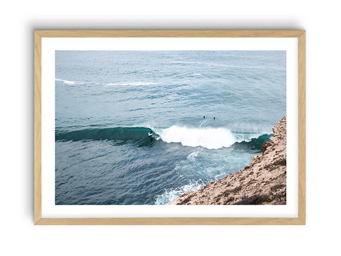 Surfing the Eyre Peninsula ,  Print