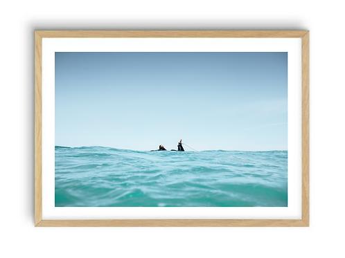Surfergirl Splitshot,  Print