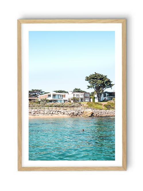 Portsea Bathing, Print