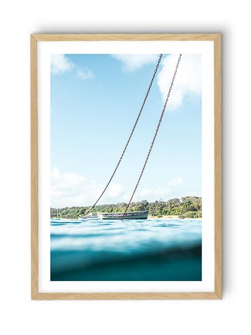 Fishing Boat Flinders Pier, Print
