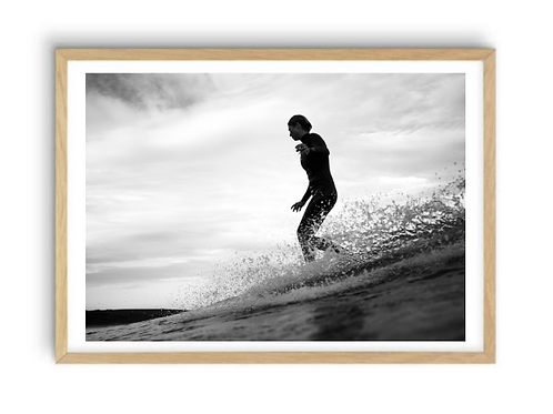 The art of surfing,  Print