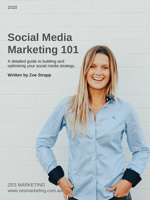 Social Media Marketing 101 E-Book