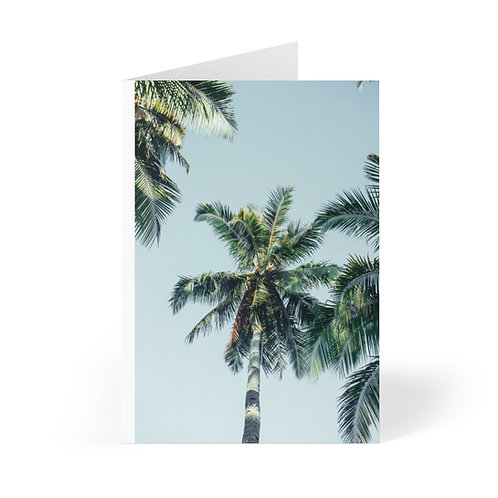 Retro Palms Gift Cards (8 pcs)