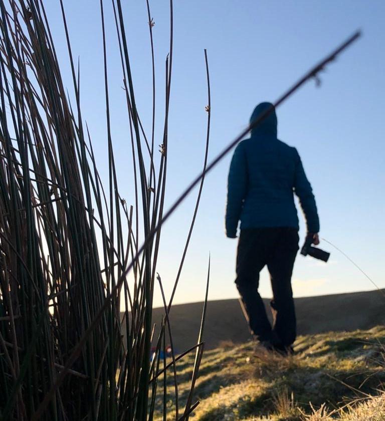 Camera woman - Ellie Green - Montane Spine Race Films