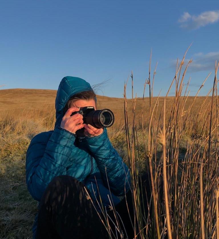 Ellie Green - Editor - Camera Woman - Montane Spine Race - Summit Fever Media