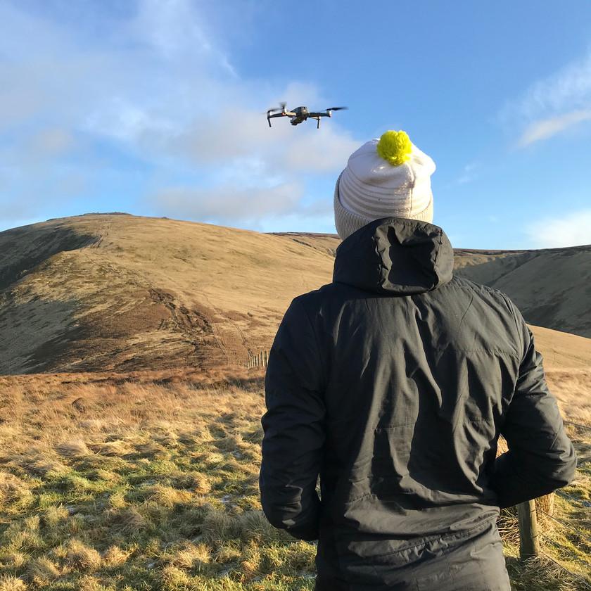 Drone Pilot - Matt Green - Montane Spine Race - Summit Fever Media
