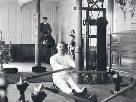 Gym on Titanic. 1912.