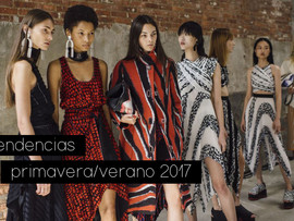 TENDENCIAS PRIMAVERA/VERANO 2017