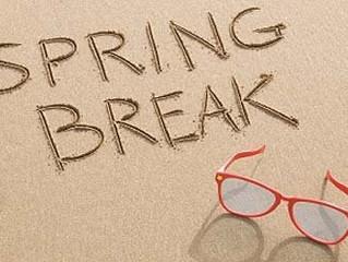 Spring Break Eye Exams