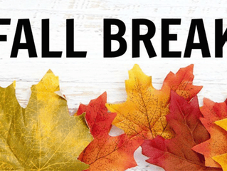 Call to schedule for fall break!